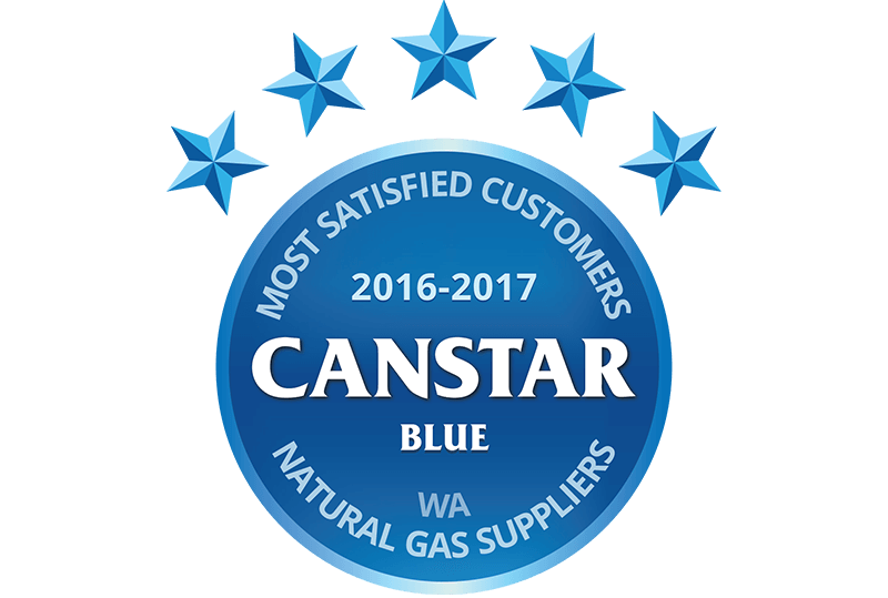 Kleenheat has won Canstar's ranking of the WA Natural Gas provider with the most satisfied customers for three years running, from 2016 to 2018
